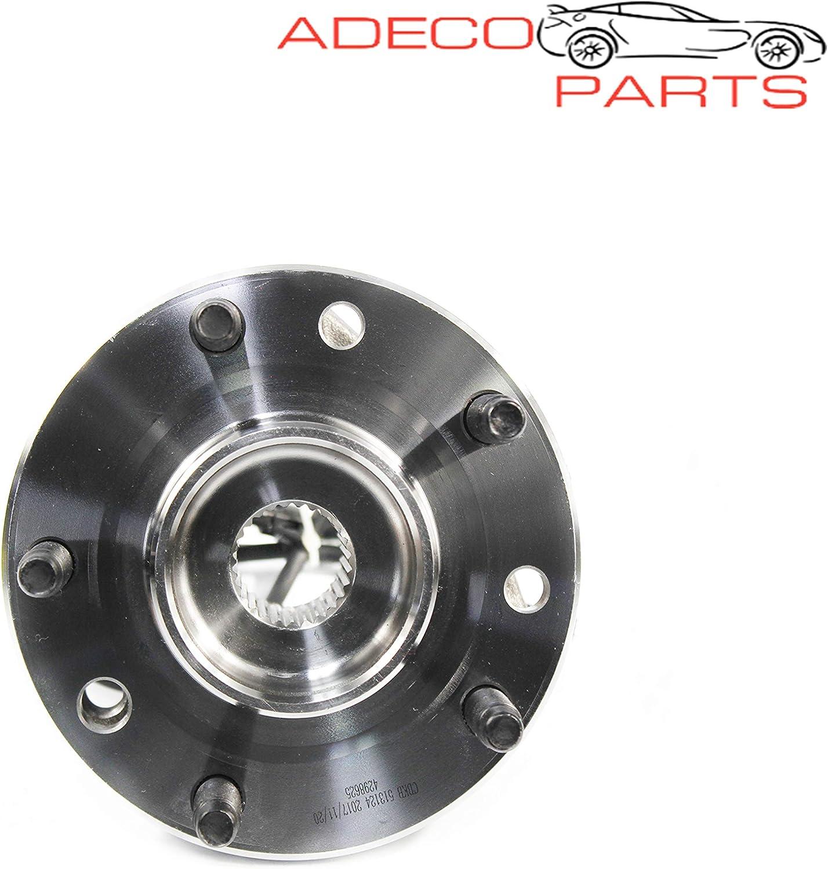 AdecoAutoParts/© 513124 Front Wheel Bearing and Hub Assembly for Chevrolet Blazer S10 GMC Jimmy Sonoma Isuzu Hombre Oldsmobile Bravada BR930097