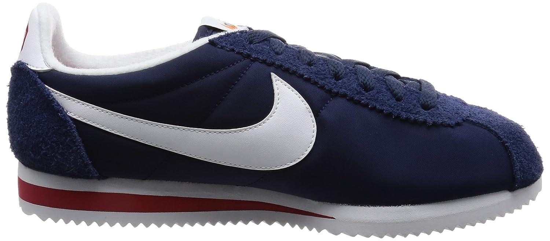 100% authentic c5799 42179 Nike Cortez Nylon Prem, Sneakers Basses Homme, Bleu (Midnight Navy White Varsity  Red), 40.5 EU  Amazon.fr  Chaussures et Sacs