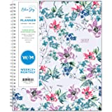 "Blue Sky 2021 Weekly & Monthly Planner, Flexible Cover, Twin-Wire Binding, 8.5"" x 11"", Laila (125889)"