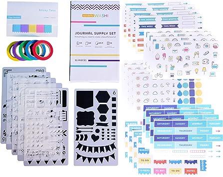 NEW Job Lot 4 x Grafix Decorate Your Own Notebook Set  FREE P/&P