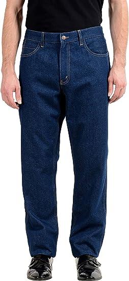 Amazon Com Gucci Blue Us 40 It 56 Pantalones Vaqueros Para Hombre Clothing