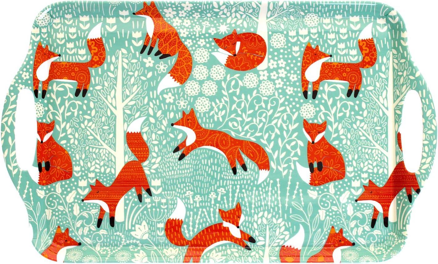 Bandeja de melamina tama/ño Grande Ulster Weavers Foraging Fox
