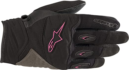 XS PUMA Racing Motorcycle Gloves Red