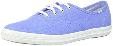 Keds Women's Champion Chalky Canvas Sneaker, Pale Iris, ...
