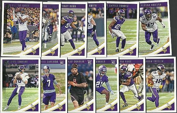 b5218416 2016, 2017, 2018 Panini Donruss Football Minnesota Vikings 3 Team ...