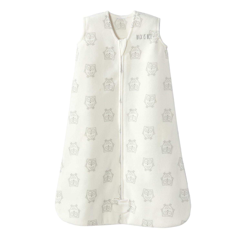 Halo Sleepsack Wearable Blanket Micro Fleece - Owls Cream, Size XLarge 4174