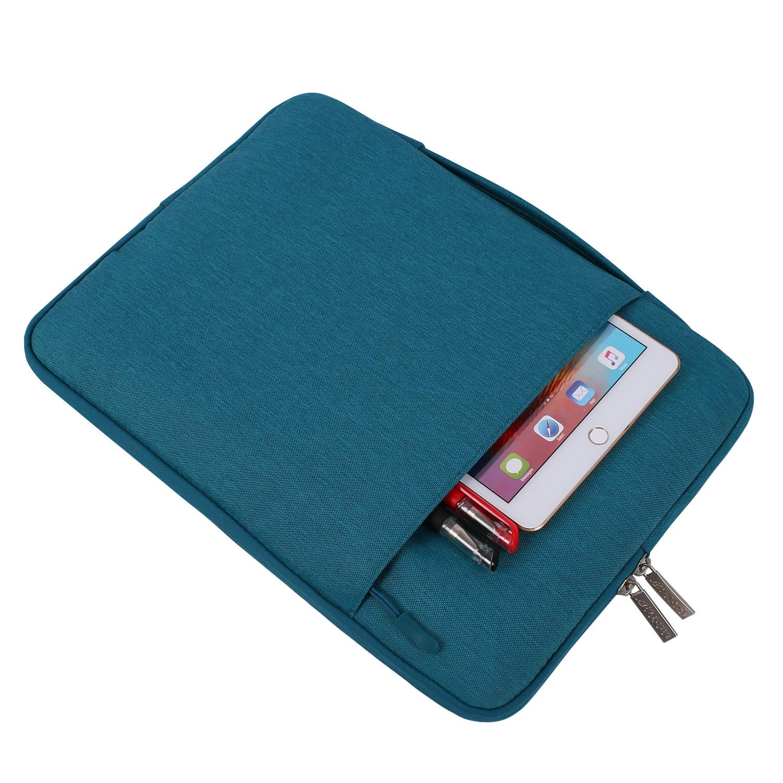Hei/ß Blau Polyester Multifunktion Spritzwasserfest Tasche MOSISO Tasche Sleeve H/ülle Kompatibel mit 2019 2018 Neu MacBook Air 13 Zoll A1932 13 Zoll Neu MacBook Pro A2159 A1989 A1706 A1708