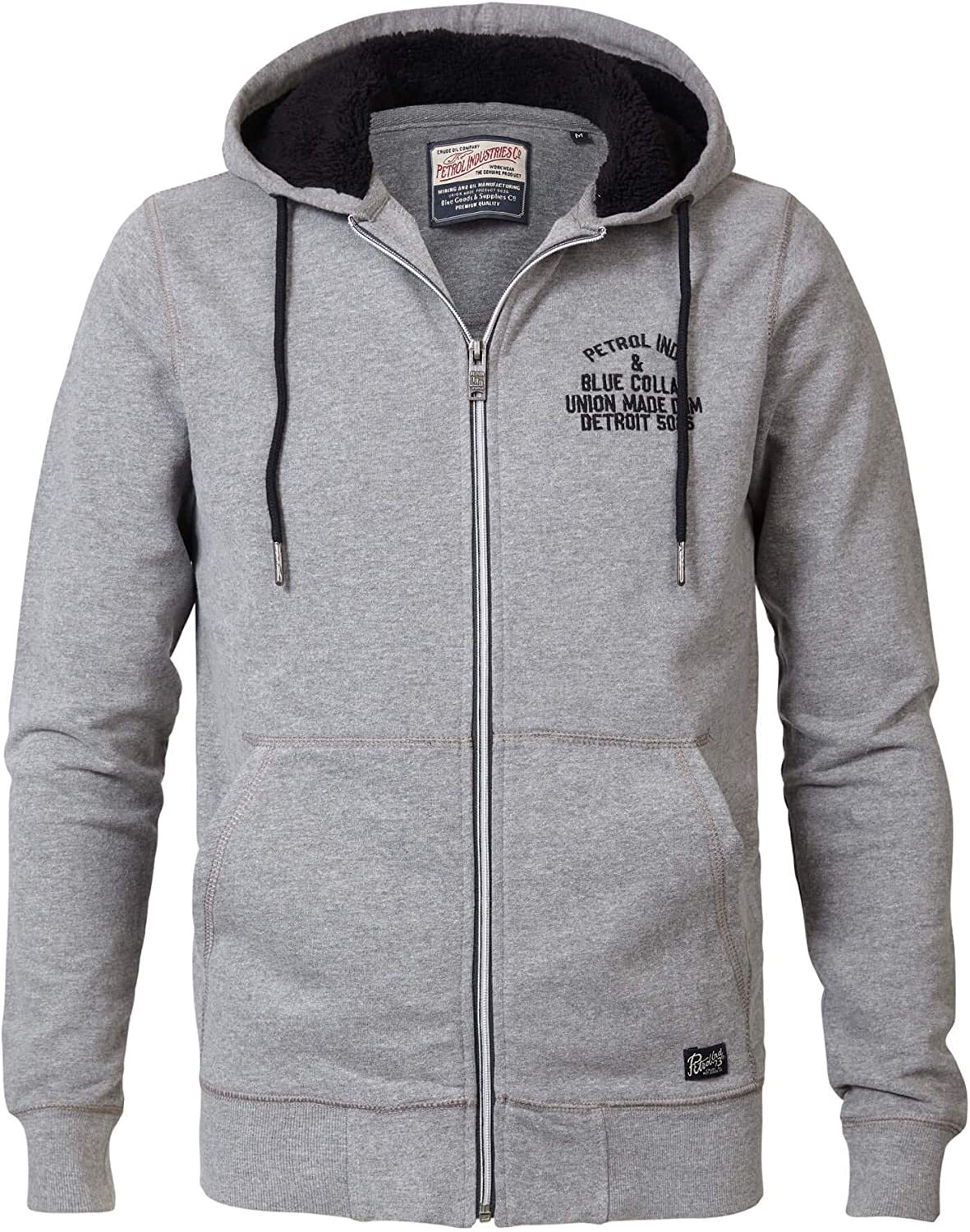 Petrol Industries Herren hoody Union 010 antique white