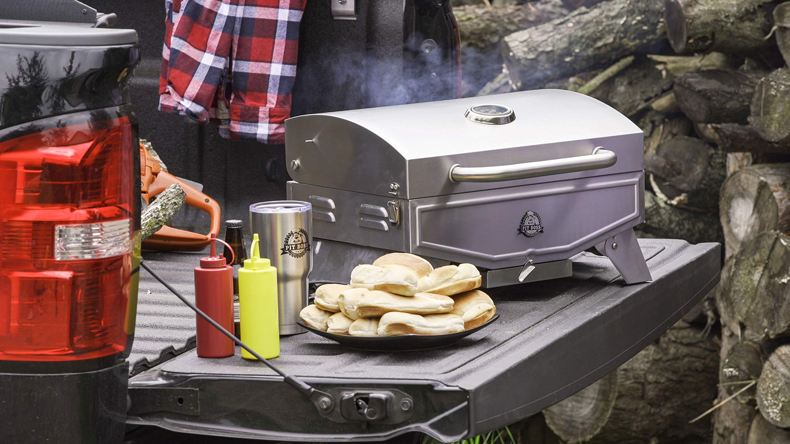 Pit Boss Grills PB100P1 Pit Stop Single-Burner Portable Tabletop Grill by Pit Boss Grills (Image #11)