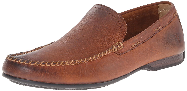 FRYE Hommes's Lewis Venetian, Cognac Soft Vintage Leather-80259, 13 13 M US