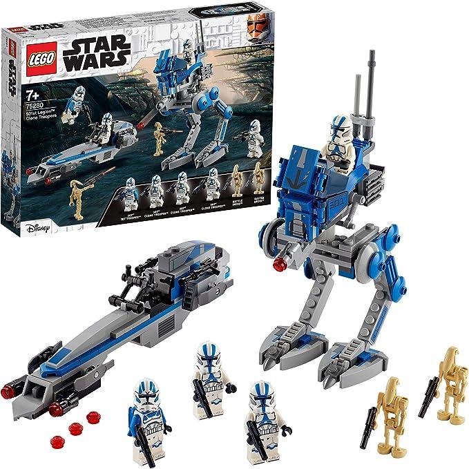 LEGO Star Wars TM Soldados Clon de la Legión 501 Set con Droides ...