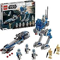 LEGO 75280 Star Wars Soldados Clon de la Legión 501, Juguete de Construcción