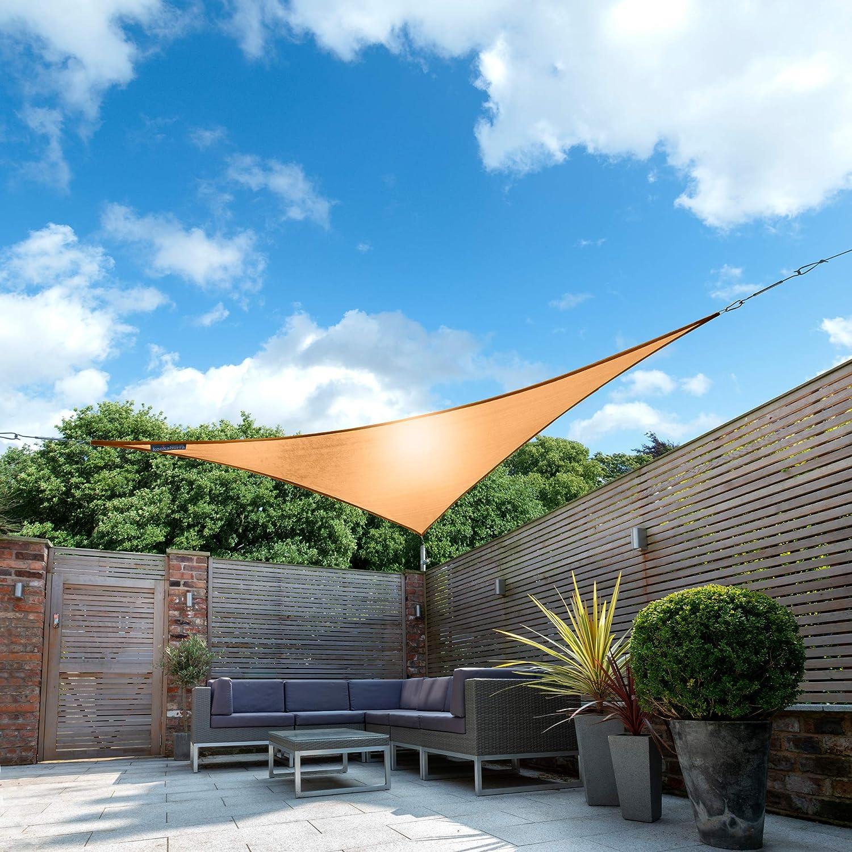 Kookaburra Tenda a Vela Pesca Impermeabile Protezione Anti Raggi 98/% UV per Ombreggiare Il Giardino Quadrata 3,0m Terrazzo o Balcone