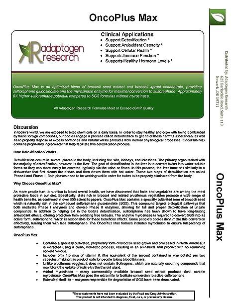 Amazon.com: oncoplus Max – 90 Vcaps • 500 mg concentrado ...