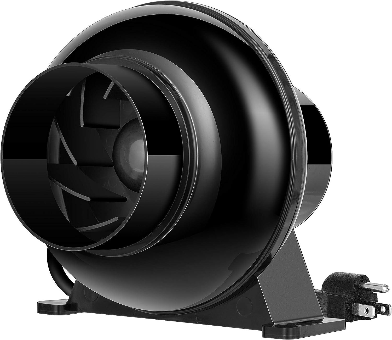 VIVOSUN 4 Inch Inline Fan 4 Inch 8 Feet Ducting