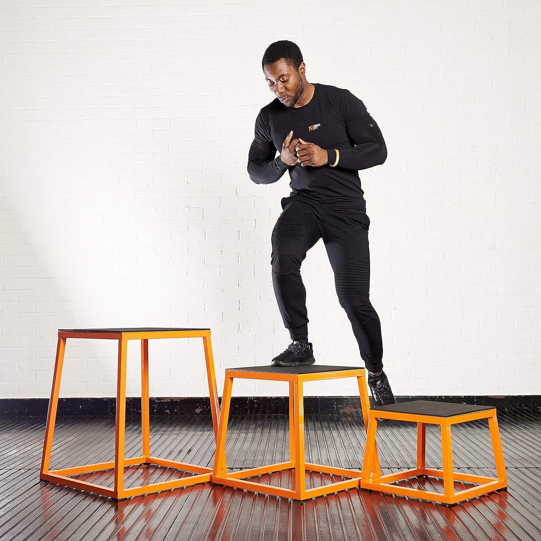 Choice of Size Mirafit Steel Plyo Jump Box