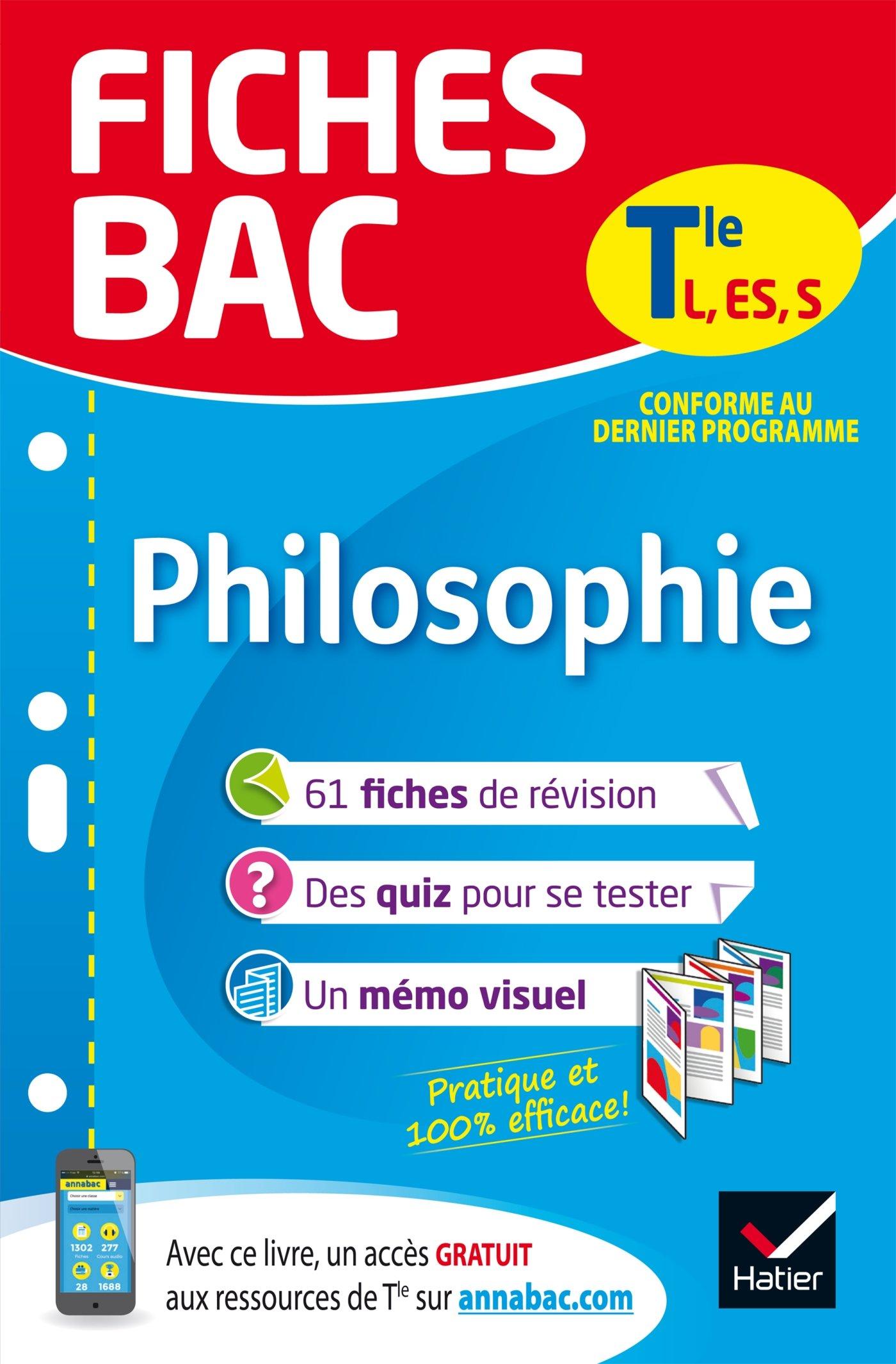 Fiches bac Philosophie Tle L, ES, S: fiches de révision Terminale séries générales: Amazon.es: Gérard Durozoi: Libros en idiomas extranjeros