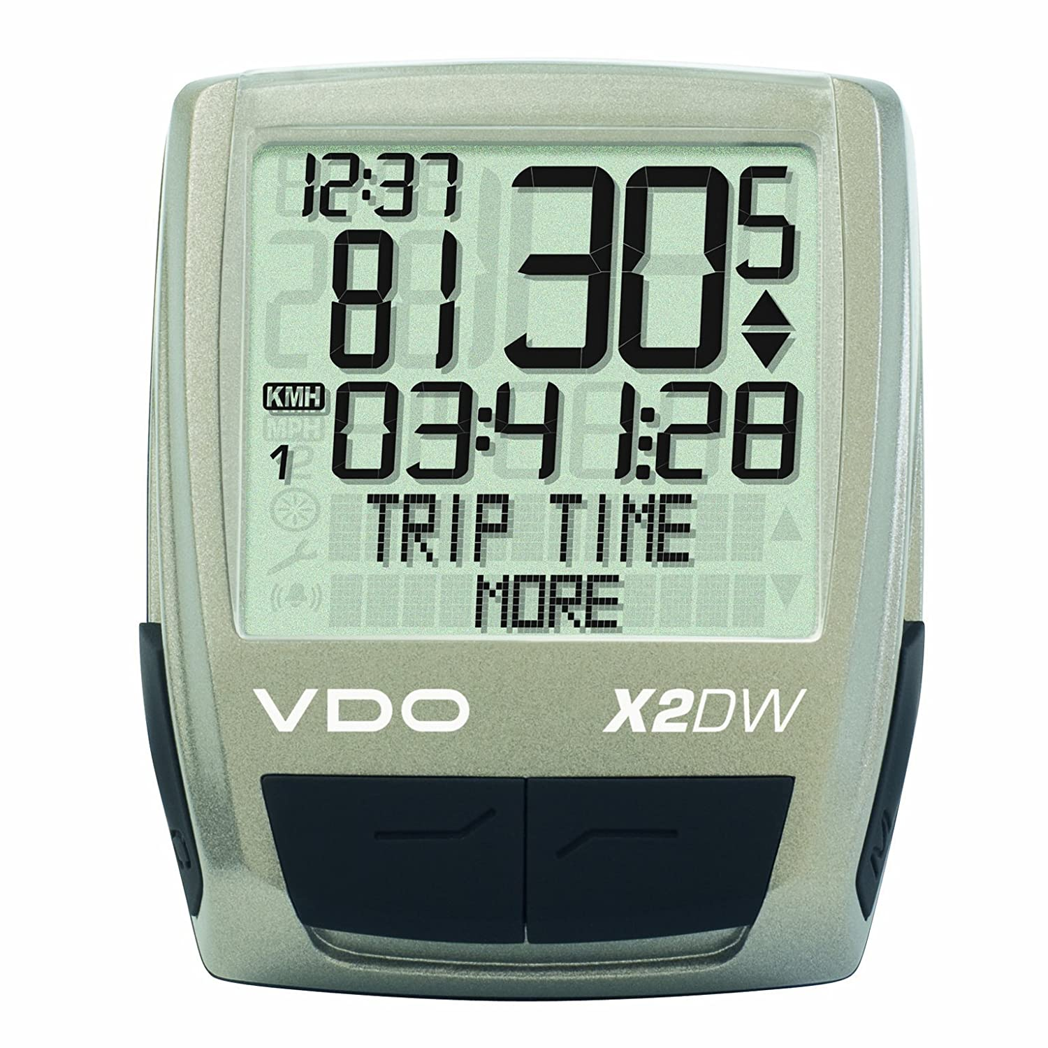 Vdo X2dw Wireless Bicycle Computer Sports Outdoors