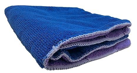 kinctory grueso forro polar de microfibra para limpieza de coche Cera Pulido toallas, 16 pulgadas