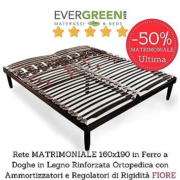 EvergreenWeb U2013 Netzwerk Doppelbett 160 X 190 A Latten Aus Holz Für Bett  Oder Matratze Doppelbett