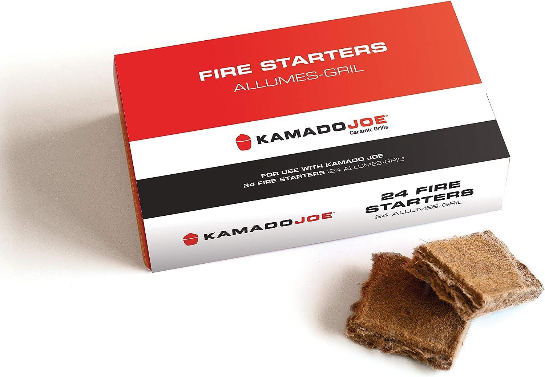Kamado Joe KJFS Fire Starters, 24 counts : Charcoal Starters : Garden & Outdoor