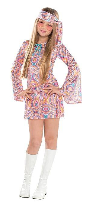 Christy`s - Disfraz de Diva de Disco para niña, Talla 14 ...