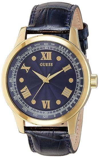 Guess W0662G3 - Reloj de Lujo para Hombre, Color Azul/Negro