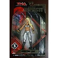 $64 » Angelina Love Signed TNA Impact Action Figure PSA/DNA Jakks Pacific Wrestling 5 - Wrestling Figurines