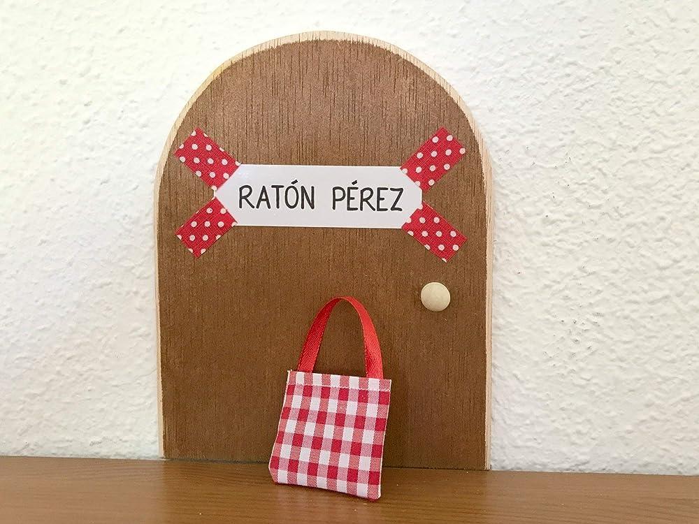 La auténtica puerta mágica del Ratoncito Pérez. Con una ...