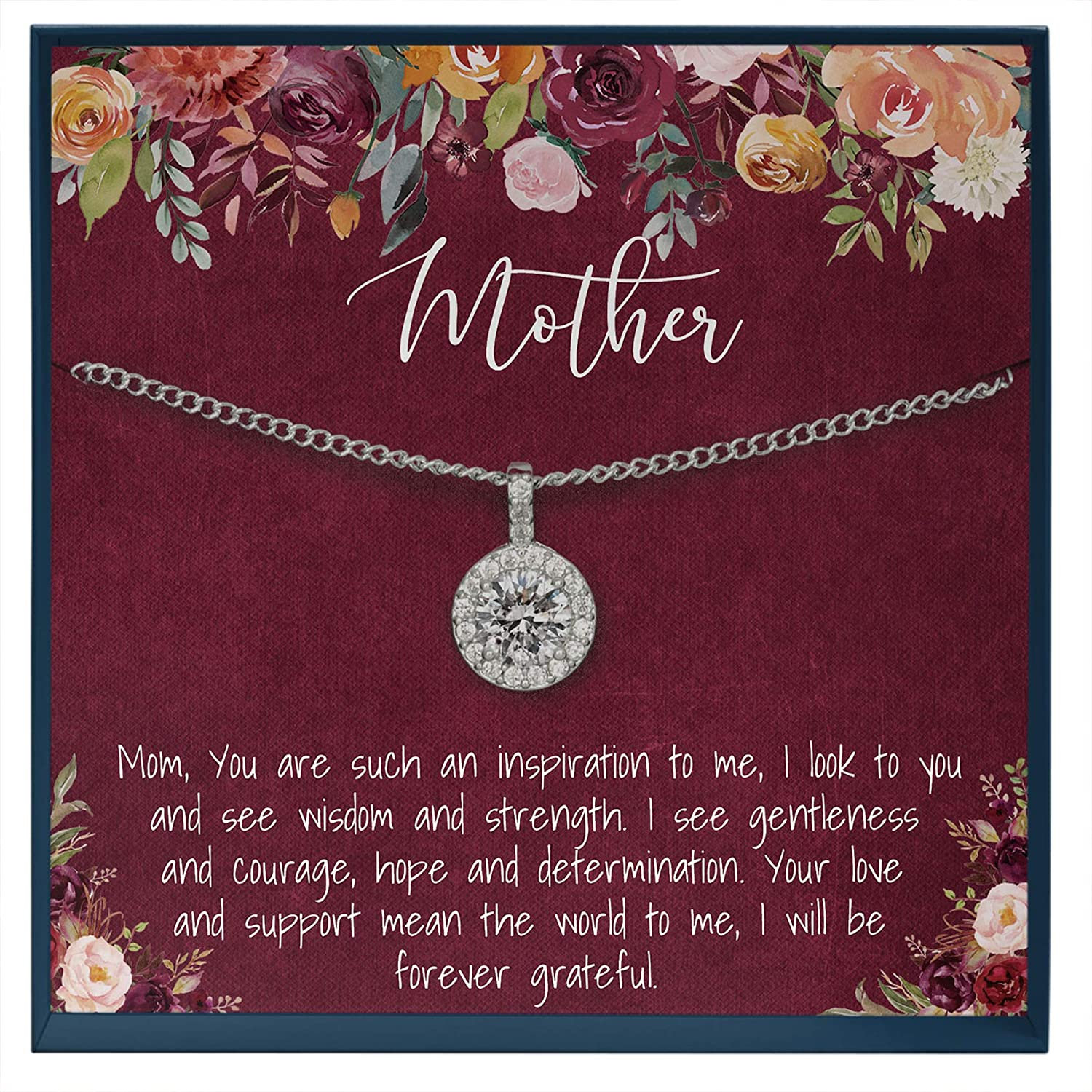 Mother Necklace Mom Gifts for Mom Gift for Mum Necklace Mother Birthday Gifts Idea Mother's Day Jewelry Mummy Gifts