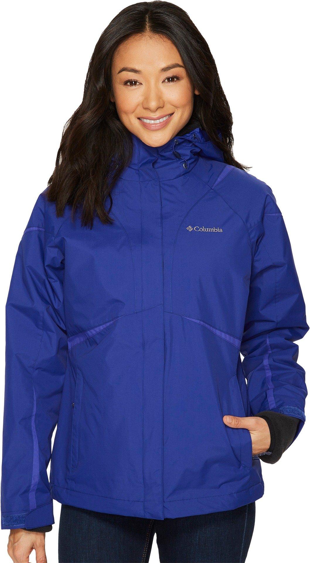 Columbia Women's Blazing Star Interchange Jacket, Dynasty, XS