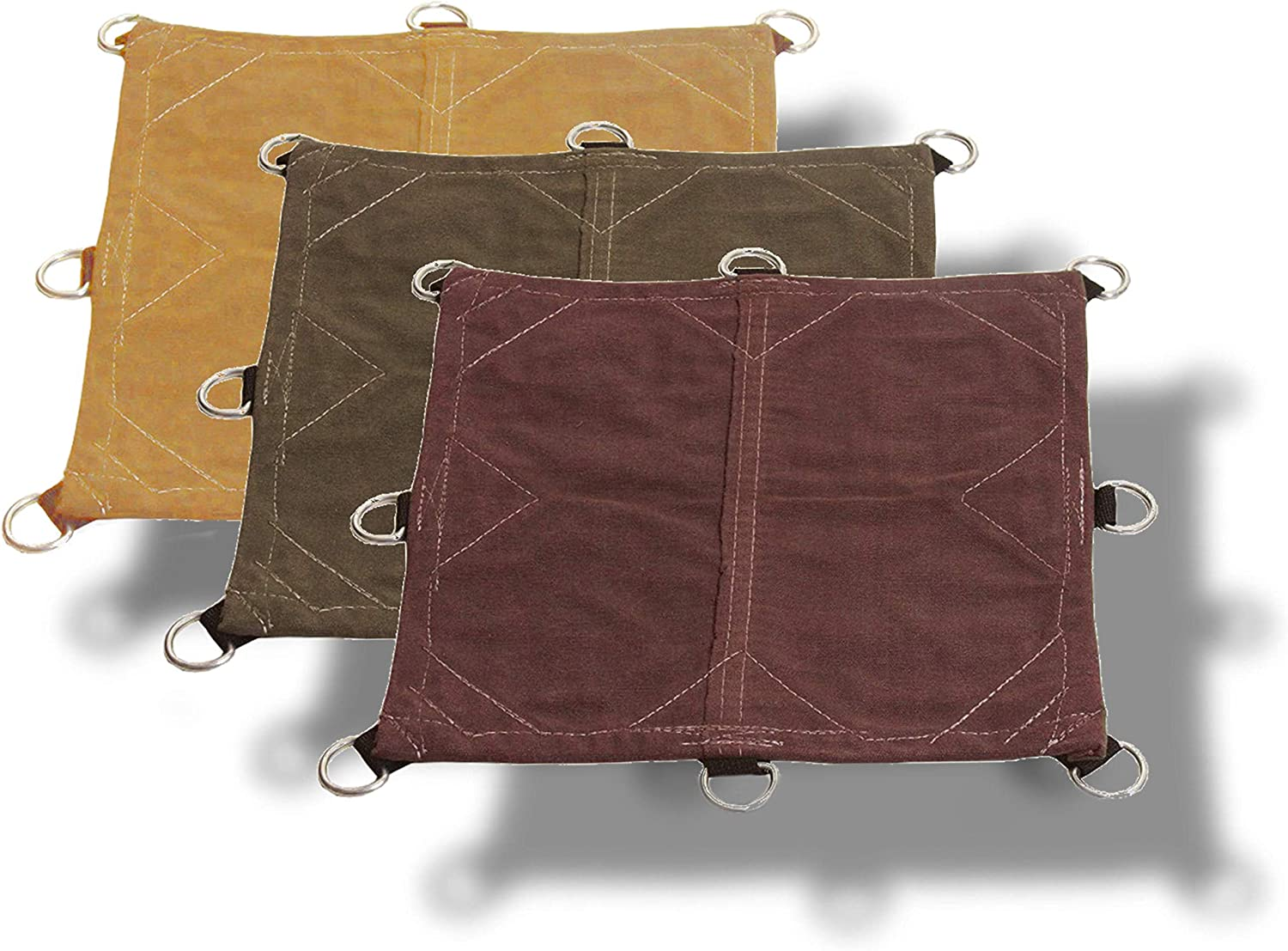 and Protection Tarp Nation 12x14 18oz Heavy Duty Canvas Tarp with D-Rings Top Quality Performance