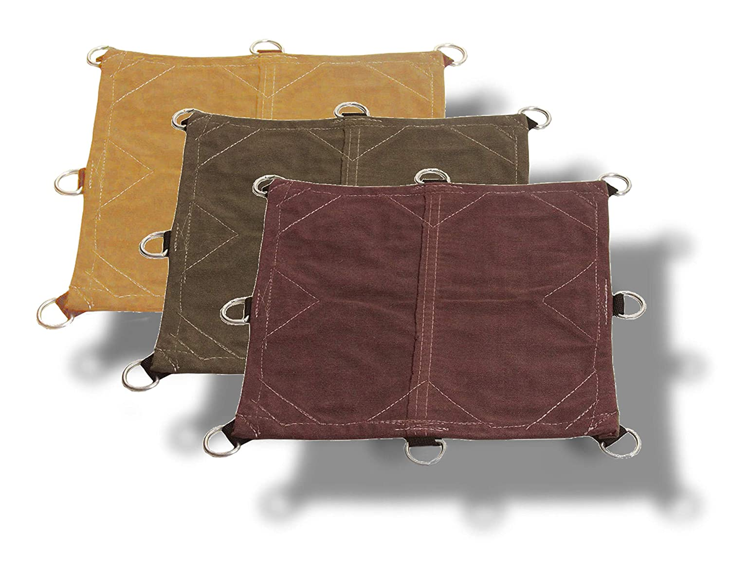 Performance 12x14 18oz Heavy Duty Canvas Tarp with D-Rings Top Quality and Protection Tarp Nation