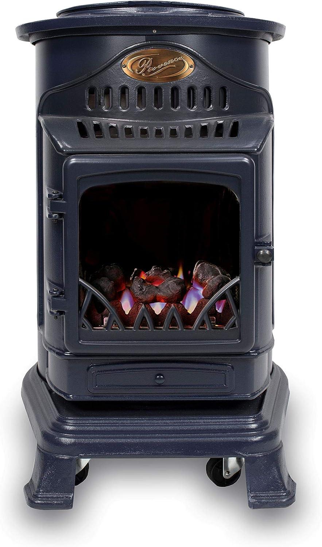 Blue Calor Provence 3kw Portable Flueless Gas Stove Heater