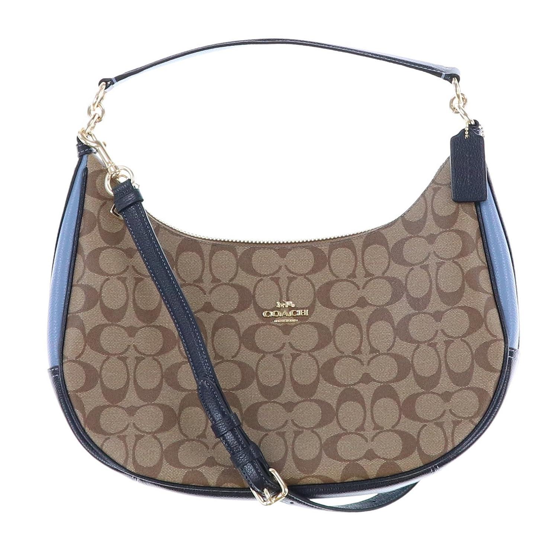 Amazon.com  Coach Signature East West Celeste Convertible Hobo Crossbody  Handbag (Brown)  Shoes 1175b53a74