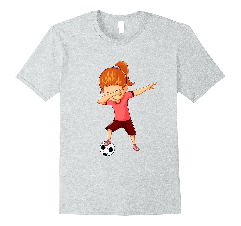 Soccer Shirt for Girls Funny Dabbing Dab Dance Soccer Ball-Art
