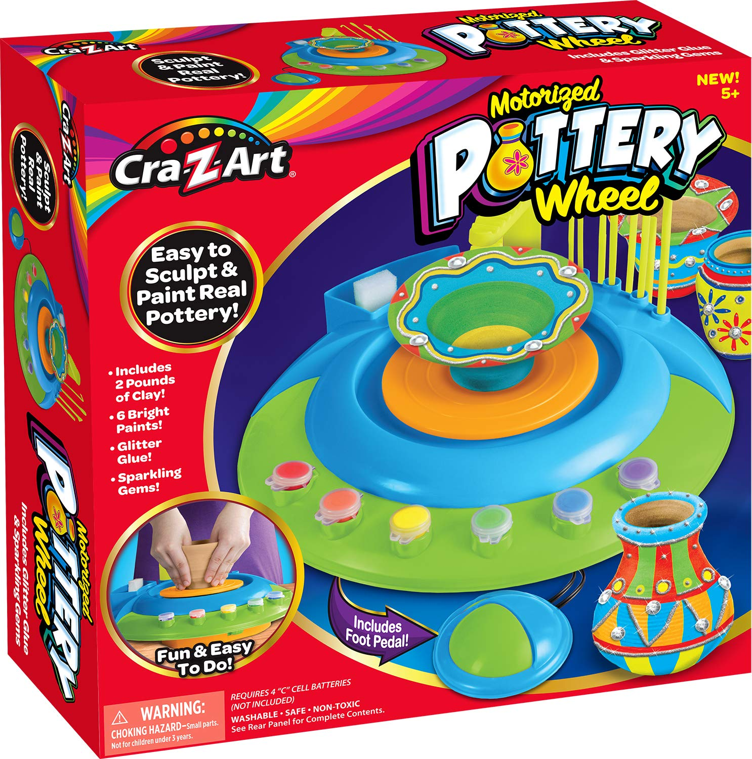Top 7 Best Pottery Wheels for Kids Reviews in 2020 5