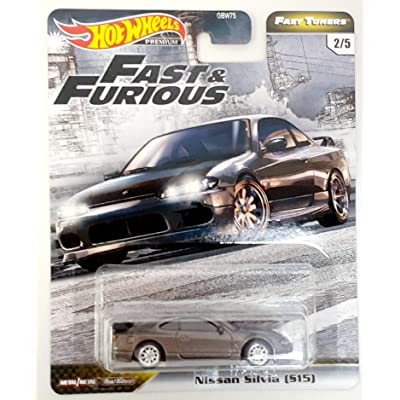 Hot Wheels Fast & Furious Fast Tuners Nissan Silvia (S15): Toys & Games