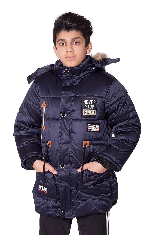 Boys Kids Never Stop Riding Padded Jacket