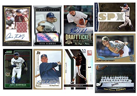 finest selection 5b883 4d632 Amazon.com: BIGBOYD SPORTS CARDS SAN Diego Padres 30 Card ...