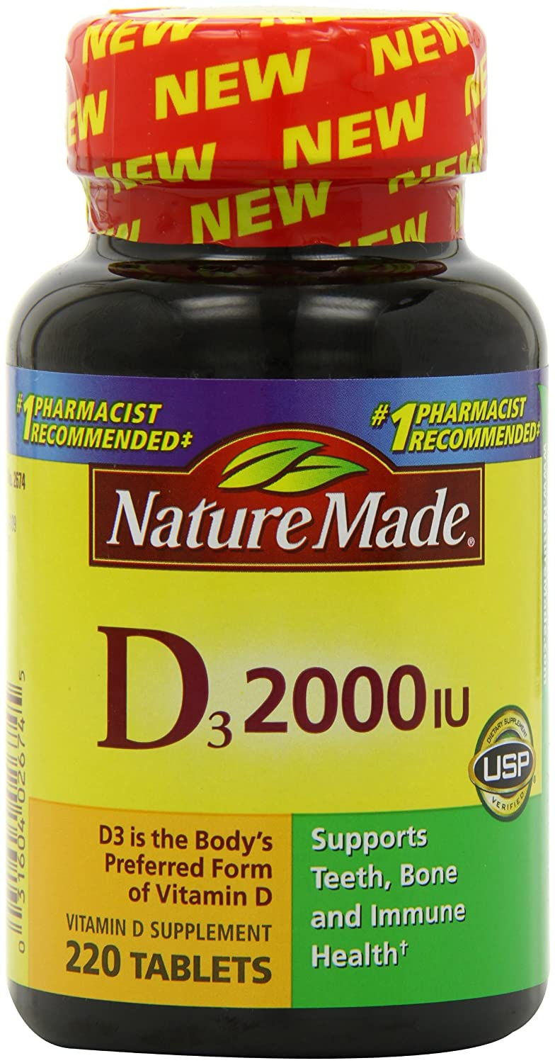 Buy herbal supplements 1000 count capsules - Amazon Com Nature Made Vitamin D3 2000 Iu Value Size 220 Count Health Personal Care