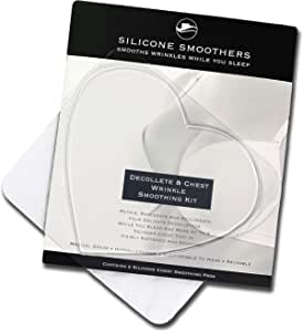 GTP Chest And Cleavage Anti Wrinkle Patches - Premium Medical Grade Silicone Smoothers Removes Existing Wrinkles by Plumping and Rehydrating Your Skin and Stops New Wrinkles From Forming - More Effective Than Expensive Anti Ageing Creams And Moisturisers - 2 Patches Per Box From Great Thinking Products