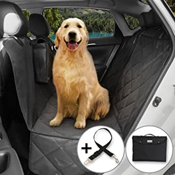 Medium image of lifewit waterproof pet seat cover dog car seat cover for cars trucks and suvs scratch