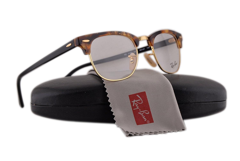 606749ee7ba Ray Ban RX5154 Eyeglasses 51-21-145 Brown Havana 5494 RX 5154  Amazon.co.uk   Clothing