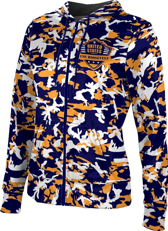 ProSphere Women's USS Roosevelt Military Camo Fullzip Hoodie