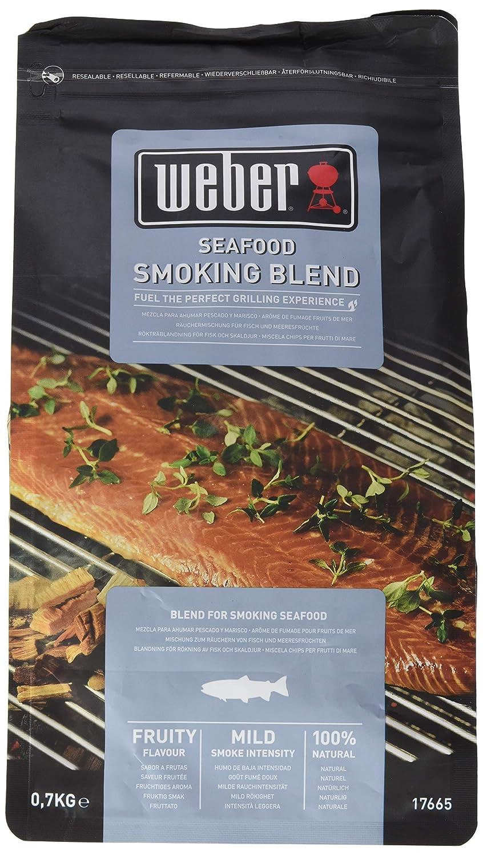 Weber de fumage Seafood 700g, noir, 30,5x 27.2x 17,2cm, 17665