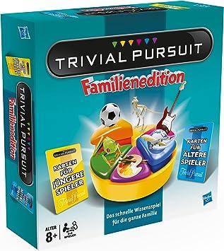 Hasbro 73013398 - Parker Trivial Pursuit, Juego de Mesa en alemán [Importado de Alemania]: Amazon.es: Juguetes y juegos