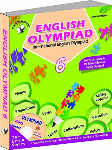 International English Olympiad - Class 6  with CD: Essential Principles with Examples; Mcqs and Solutions; Model Test Papers