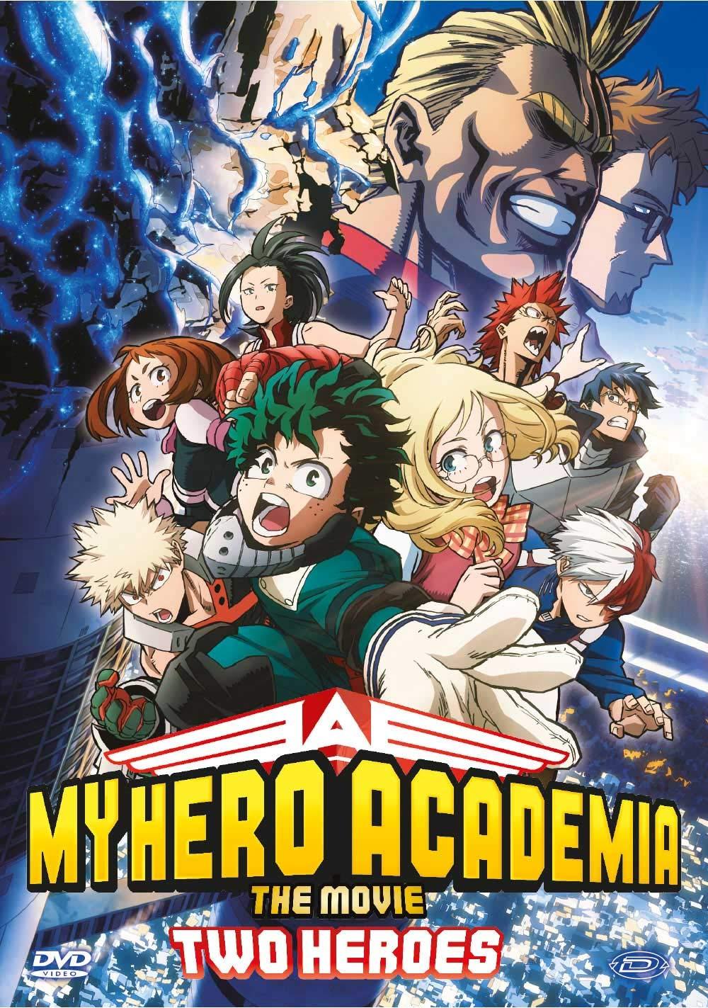 My Hero Academia - The Movie - Two Heroes Italia DVD: Amazon.es: Kenji Nagasaki: Cine y Series TV
