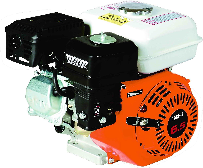 Motor de Gasolina de 6,5CV 196cc - Para motoazada, Kart, Bomba, Quad, Biotriturador, Generador